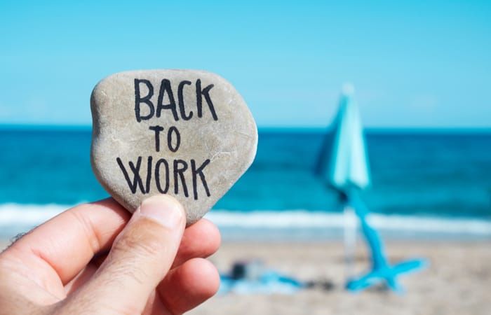 Tips When Returning to the Workplace